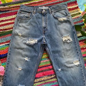 LOOSE STRAIGHT LEVIS 369 size 33 x 30